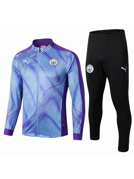Спортивный костюм Манчестер Сити голубой 2019-2020