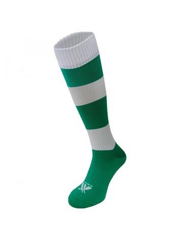 купить Гетры футбольные Swift Зебра зелено белые р.27