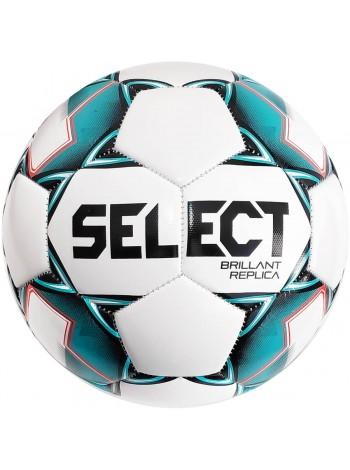 купить Мяч футбольный SELECT Brillant Replica (317) бело зеленый размер 3