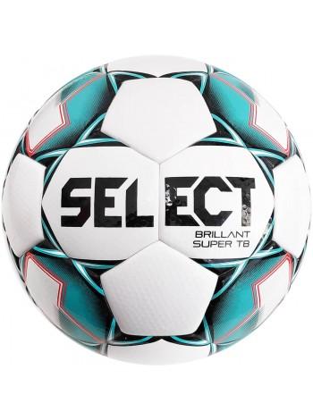 купить Мяч футбольный SELECT Brillant Super TB (043) бело зеленый размер 4