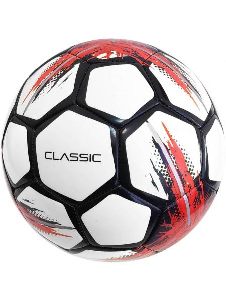 Мяч футбольный SELECT Classic (010) бело черный размер 4