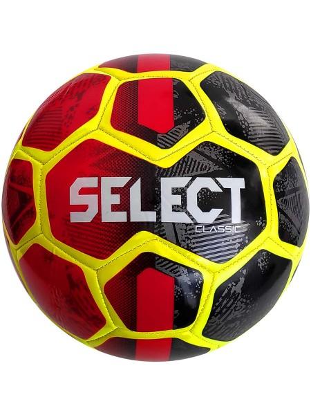 Мяч футбольный SELECT Classic (013) красно черный размер 4