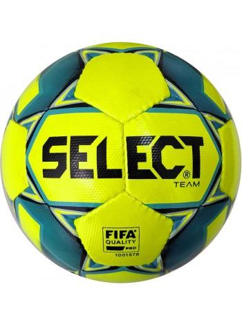 купить Мяч футбольный SELECT Team FIFA (016) желто синий, размер 5