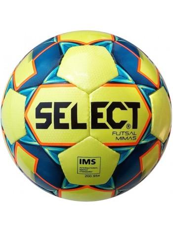купить Мяч футзальный Select Futsal Mimas IMS NEW (102) желто-синий