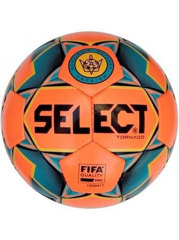 купить Мяч футзальный Select Futsal Tornado FIFA NEW (011) оранжево синий