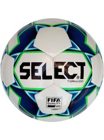 купить Мяч футзальный Select Futsal Tornado FIFA NEW (014) бело синий