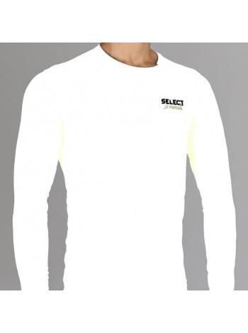 купить Термобельё SELECT Compression T-Shirt with long sleeves 6901 белый