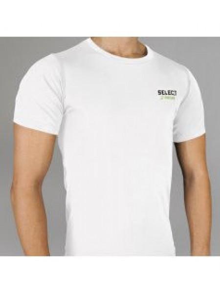 Термобельё SELECT Compression T-Shirt with short sleeves 6900 белая