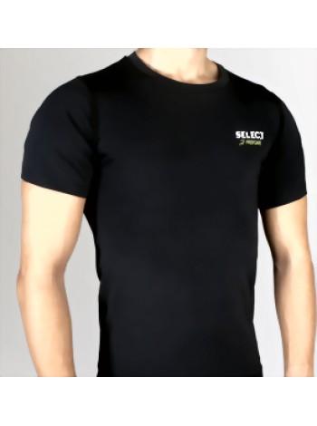 купить Термобельё SELECT Compression T-Shirt with short sleeves 6900 черный