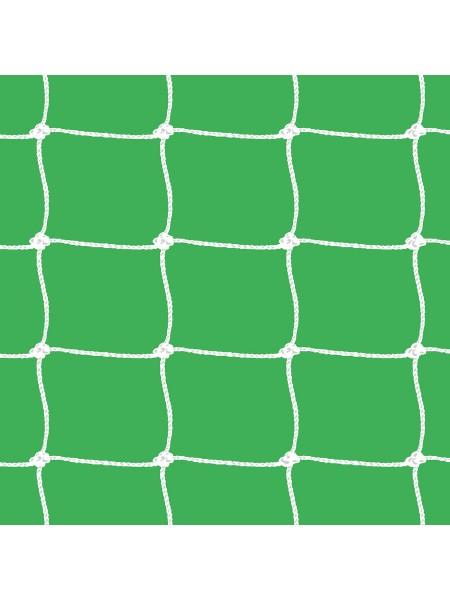 Сетка футбольная 7,5 х 2,55 х 2 м (белый)
