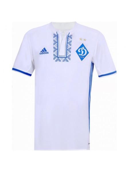 Футбольная форма Динамо с вышиванкой домашняя 2017-2018