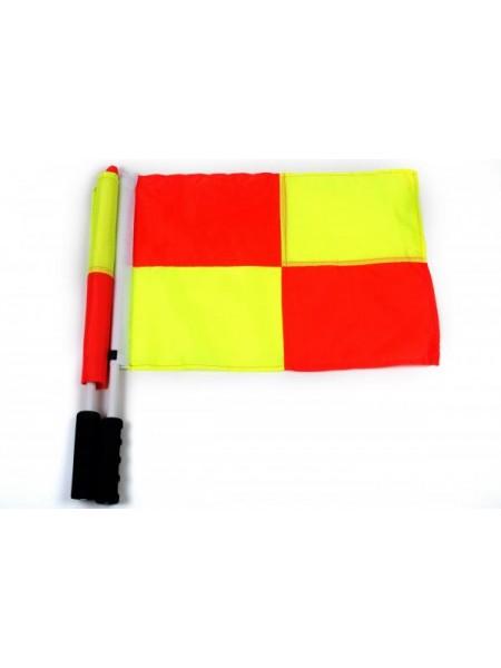 Флаги судейские квадрат (комплект)