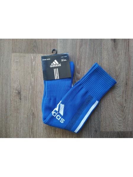 Футбольные гетры Адидас синие