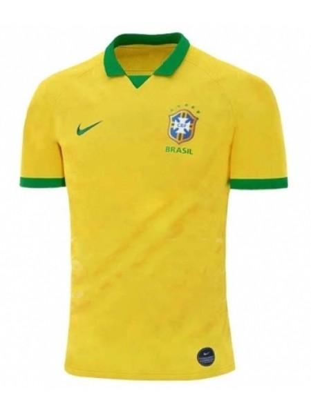 Футбольная форма национальной сборной Бразилия домашняя 2019