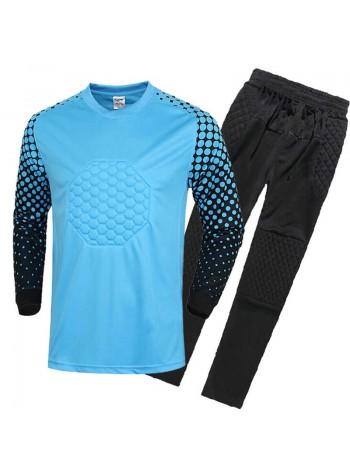 купить Детская вратарская футбольная форма  синяя