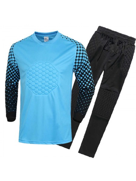 Детская вратарская футбольная форма  синяя