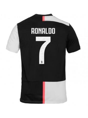 купить Детская футбольная форма Ювентус RONALDO 7  домашняя 2019-2020 фанатская версия