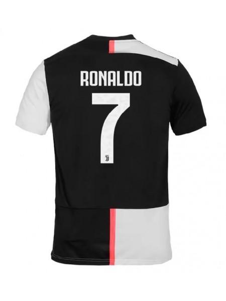 Детская футбольная форма Ювентус RONALDO 7  домашняя 2019-2020 фанатская версия
