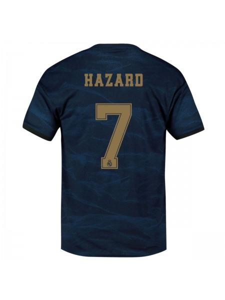 Детская футбольная форма Реал Мадрид HAZARD 7 выездная 2019-2020 фанатская версия