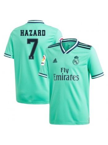 купить Детская футбольная форма Реал Мадрид  HAZARD 7 резервная 2019-2020