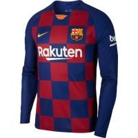 Футбольная форма с длинным рукавом Барселона домашняя 2019-2020