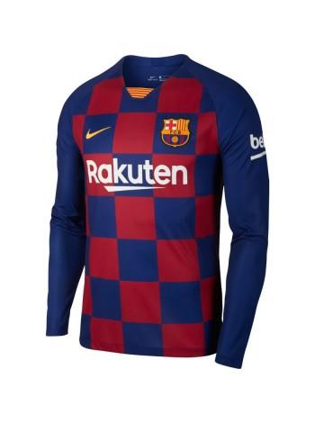 купить Детская футбольная форма с длинным рукавом Барселона домашняя 2019-2020
