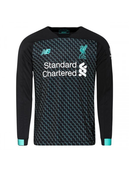 Футбольная форма с длинным рукавом Ливерпуль резервная 2019-2020