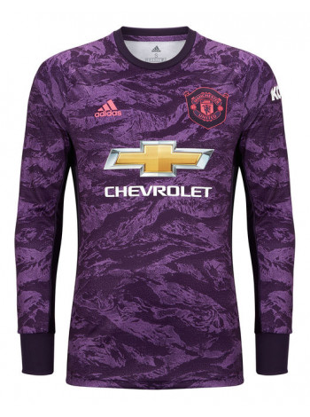 купить Детская футбольная форма с длинным рукавом Манчестер Юнайтед вратарская 2019-2020