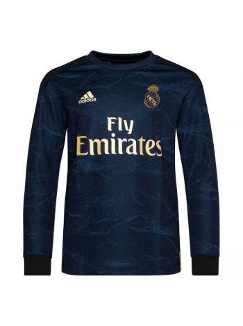 купить Футбольная форма с длинным рукавом Реал Мадрид  выездная 2019-2020