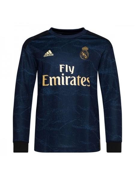 Футбольная форма с длинным рукавом Реал Мадрид  выездная 2019-2020