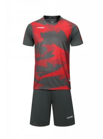 купить Футбольная форма Europaw 022 серо-красная