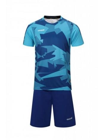 купить Футбольная форма Europaw 022 сине-голубая