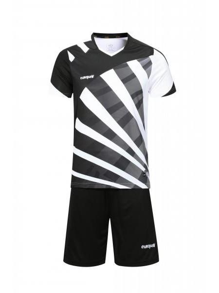 Футбольная форма Europaw 023 черно-белый