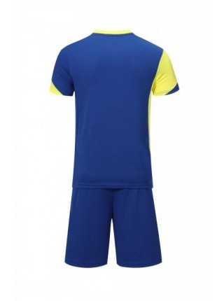Футбольная форма Europaw 023 сине-желтая