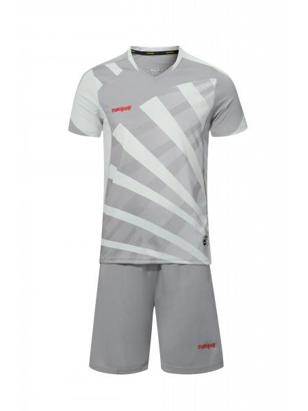 Футбольная форма Europaw 023 темно серо-серый