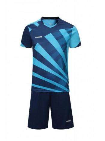 купить Футбольная форма Europaw 023 темно сине-голубая