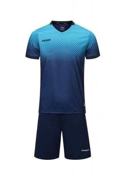 Футбольная форма Europaw 024 сине-голубая