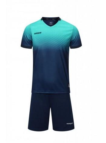 купить Футбольная форма Europaw 024 темно сине-бирюзовая