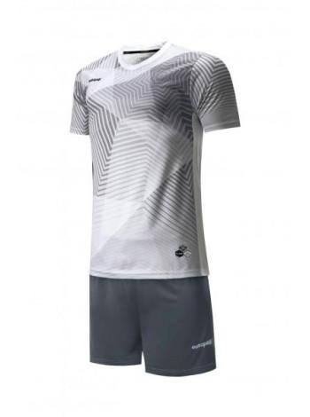 купить Футбольная форма Europaw 025 бело-серая