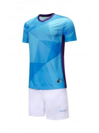купить Футбольная форма Europaw 025 голубо-белая