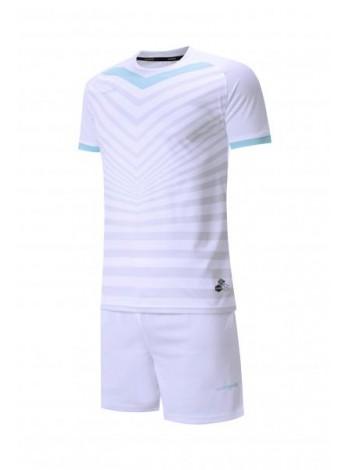 купить Футбольная форма Europaw 026  бело-голубая