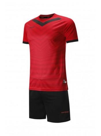 купить Футбольная форма Europaw 026  красно-черная