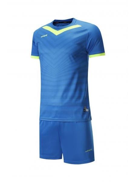 Футбольная форма Europaw 026  сине-салатовая