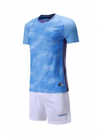 купить Футбольная форма Europaw 027 голубо-белая