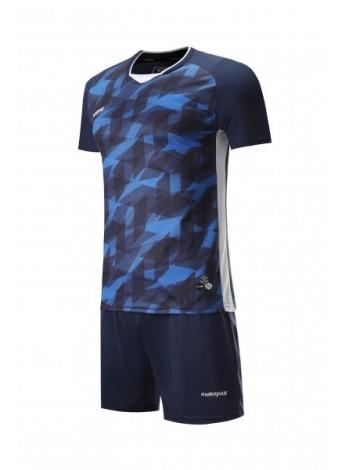 купить Футбольная форма Europaw 027 темно сине-синяя