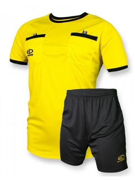 Судейская форма Europaw желто-черная