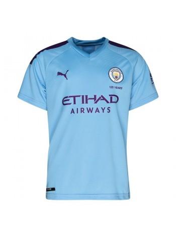 купить Детская футбольная форма Манчестер Сити домашняя 2019-2020