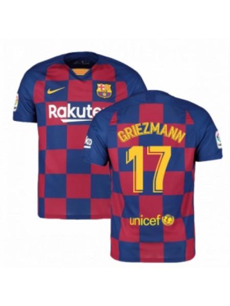 Футбольная форма Барселона GRIEZMANN 17 домашняя 2019-2020