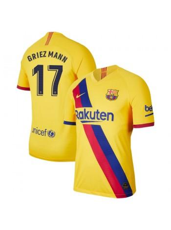 купить Детская футбольная форма  Барселона GRIEZMANN 17 выездная 2019-2020