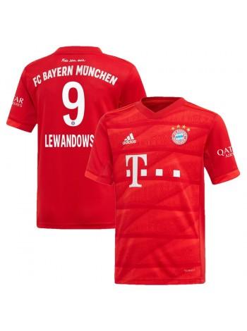 купить Детская футбольная форма Бавария LEWANDOWSKI 9 домашняя 2019-2020